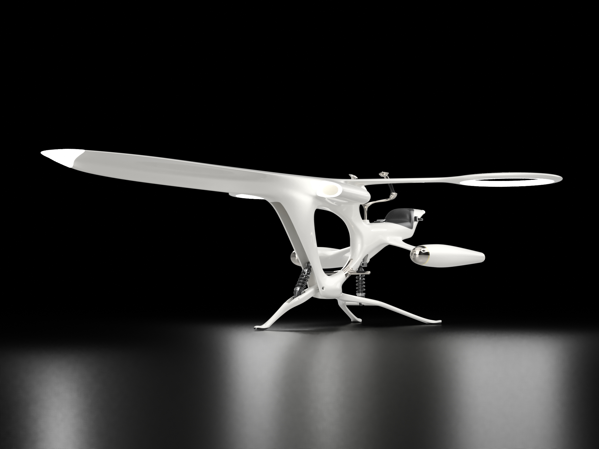 Drone Libellule pour Kossi Aguessy